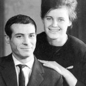 Sauro e Helga Anselmi negli anni '60